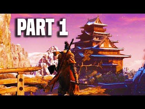 Sekiro Shadows Die Twice Gameplay Walkthrough Part 1 - NEW EXCLUSIVE GAMEPLAY