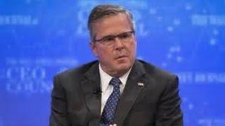 Jeb Bush Puts Foot in Mouth Over Gun Control!