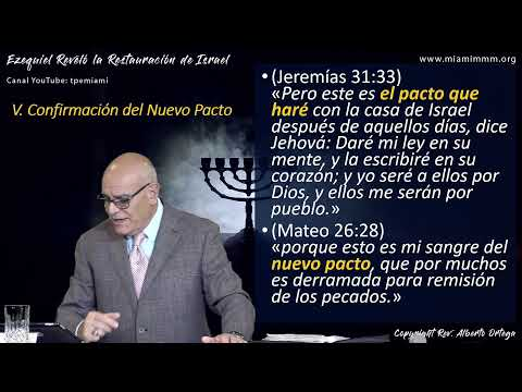 Ezequiel Reveló La Restauración De Israel