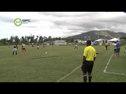 2013 OFC U-17 Championship Preliminary / MD3 / American Samoa vs Tonga Highlights