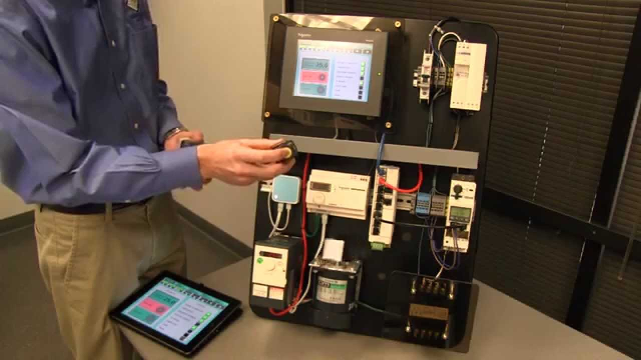 Wireless AC Drive Motor Control Capabilities with the Altivar 312 from  Schneider Electric