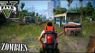 GTA 5 DLC ZOMBIES !! NUEVA BASE DE SUPERVIVENCIA ZOMBIE !! GTA V ONLINE