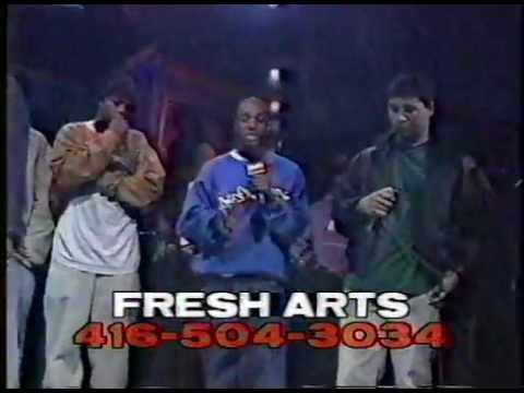 Rap City 1995 - Fresh Arts Live - FOS, Marvel, Kardinal Offishal, Saukrates