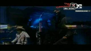 Die Ärzte - Radio brennt (Hurricane 2005) HD