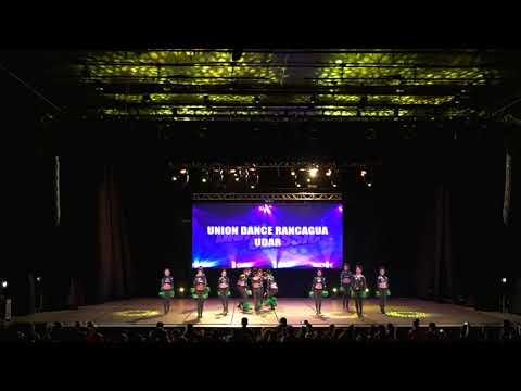 UNION DANCE RANCAGUA - UDAR - ALL STAR POMS - SENIOR COED