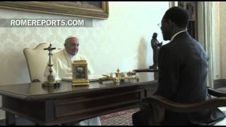 Pope meets with Equatorial Guinea president as bilateral agreement goes into effect