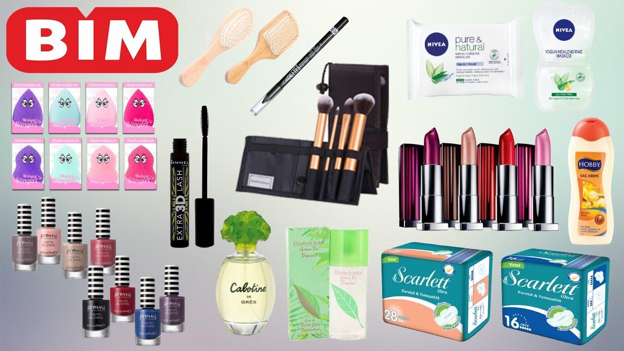 Bim Kozmetik ürünleri Bim 6 Mart 2018 Sali 6 Mart Bim Aktüel