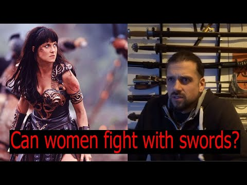 Can women fight with swords?