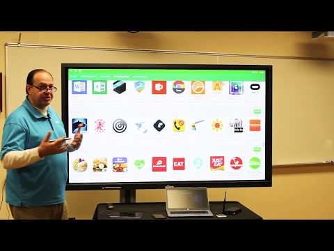 Vivitek NovoTouch Interactive Display - Full Demonstration