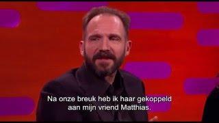 Graham & Ralph Fiennes spreken 'Matthias Schoenaerts' bijna juist uit - Graham Norton Show op Acht