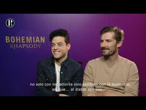 Rami Malek y Gwilym Lee nos cuentan su papel en la película Bohemian Rhapsody