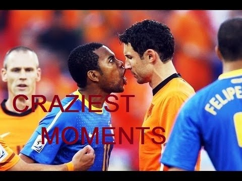 THE CRAZIEST MOMENTS IN THE FOOTBALL HISTORY