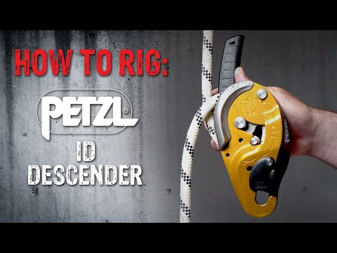 How to Rig: Petzl ID's Descender