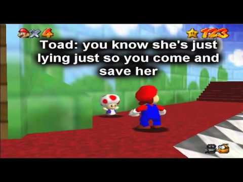Super Mario 64 Bloopers S04E3 The Lie That Was a Cake That Is a Lie