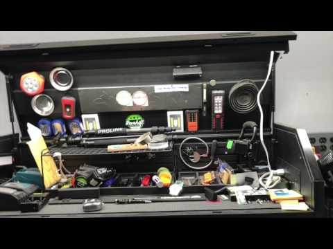 Cheap alternative toolbox hutch light, husky 52 flat black light harbor freight and Sam's Club