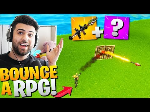 How To *BOUNCE* RPG's Off WALLS! (CRAZIEST TRICK) - Fortnite Battle Royale Season 2