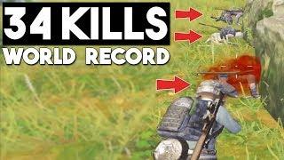 NEW WORLD RECORD!!! | 34 KILLS Solo vs Squad | PUBG Mobile