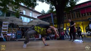 Break the Floor Slovenia - // Final Bgirl Battle // 2017