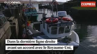 Brexit : les négociations bloquent sur l'accès des pêcheurs aux eaux britanniques