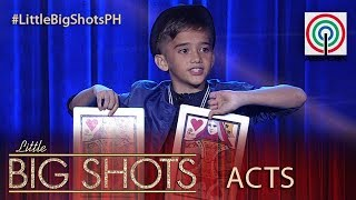 Little Big Shots Philippines George  11 Year Old Comedy Close Up Magician