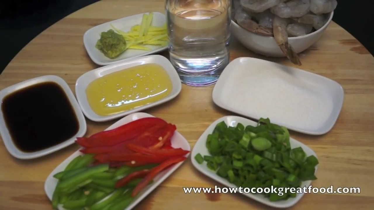 Chinese sweet n sour shrimp recipe asian prawn youtube forumfinder Gallery
