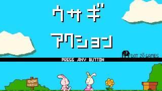 Let's Play An Action Game Maker Sample Platformer Game