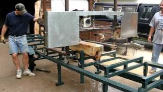 Homemade Portable Bandsaw Mill