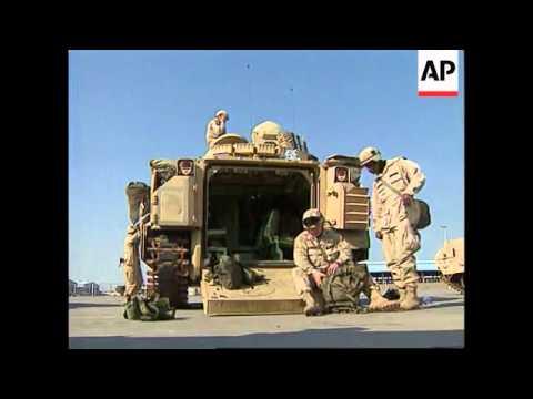 Kuwait - Military buildup continues