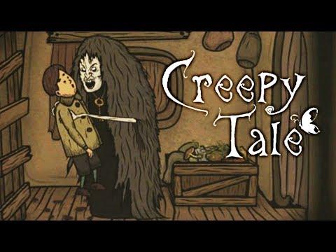 ТАЙНЫ МРАЧНОГО ЛЕСА - В ГОСТЯХ у СТРАШНОЙ БАБКИ! Жуткая сказка Creepy Tale #2
