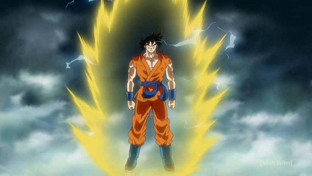 Download Goku Shows Frieza A Super Saiyan God - Dragonball Super