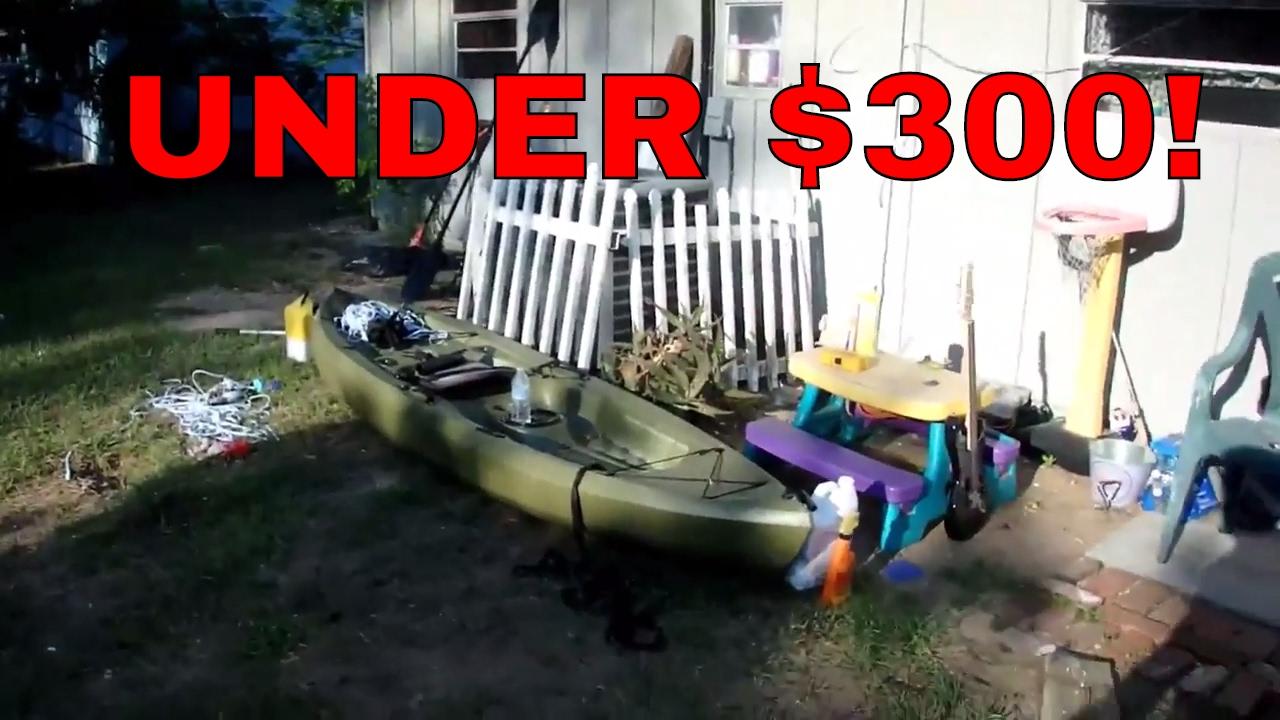 Lifetime tamarack angler fishing kayak youtube for Tamarack fishing kayak