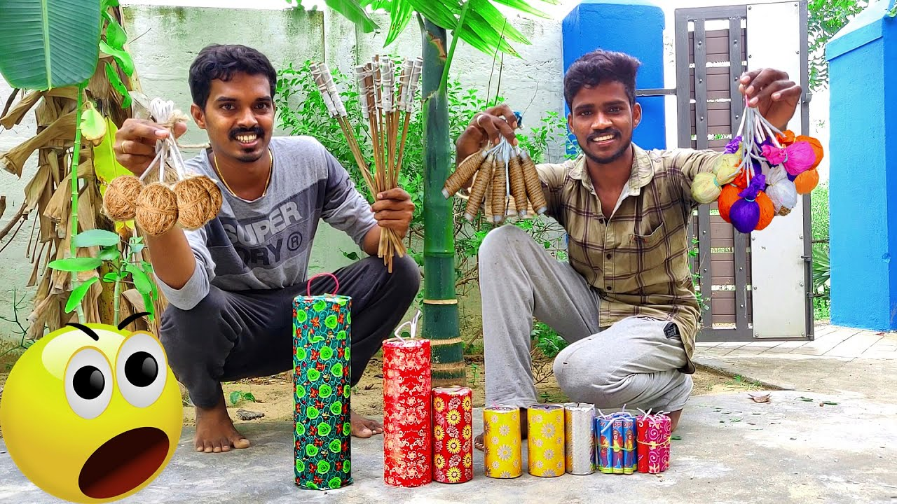 World Dangerous Crackers | ஆபத்தான பட்டாசு | Vera Level Enjoyment | Testing Dangerous Fireworks