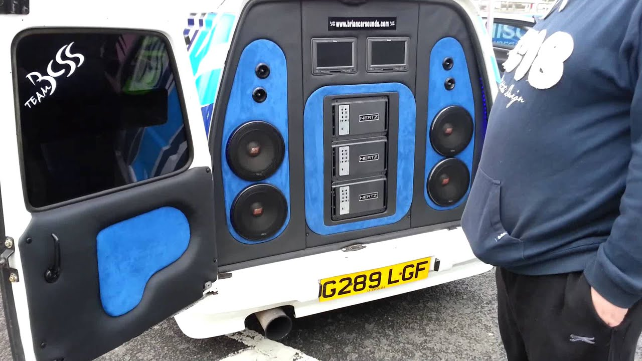 Live Sound System Setup Diagram Brands Hatch Modified Escort Van Youtube