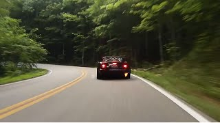 S2000 Chasing Jamie's Flaming Miata V2.0 At Deals Gap
