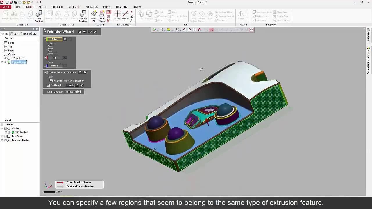 Geomagic Design X 2016 Basic Complete Workflow
