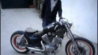 Repeat youtube video Yamaha XV535 Bobber
