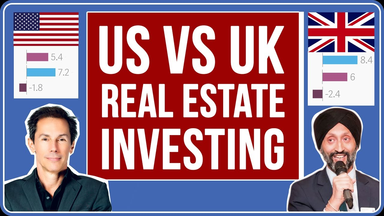 US vs UK Real Estate Investing (ROI Comparison, RV Ratio, Migration to Suburbs, Current Trends)