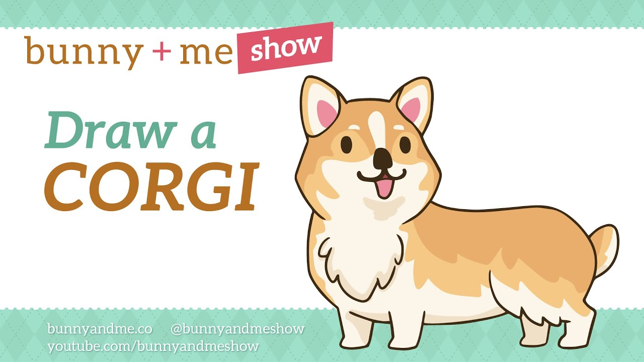 How To Draw A Corgi  Easy Drawing Tutorial