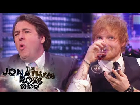 Ed Sheeran Singing Badly - The Jonathan Ross Show
