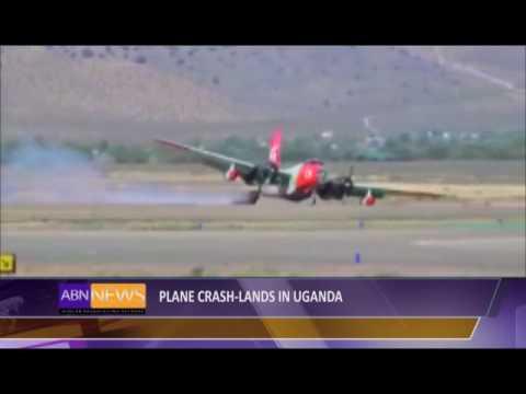 Plane Crash--Lands In Uganda
