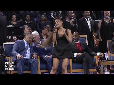 WATCH: Ariana Grande performs