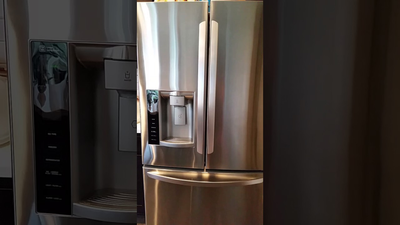 Clean Stainless Steel Fridge All Naturally