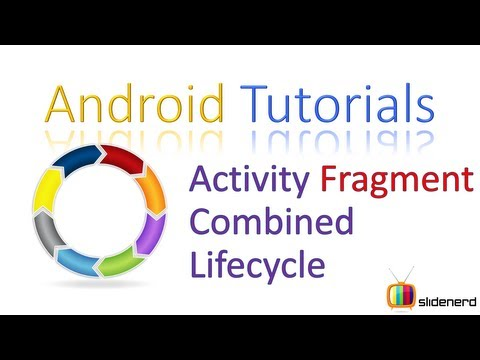 114 Android Activity Fragment Combined Lifecycle |