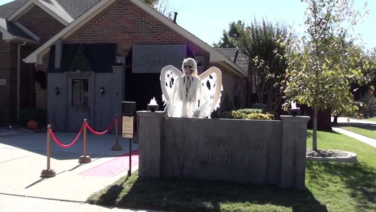 2012 marian manor haunted house youtube for Good themes for a haunted house