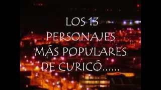 """RANKING """"LOS PERSONAJES MAS POPULARES DE CURICÓ"""""""