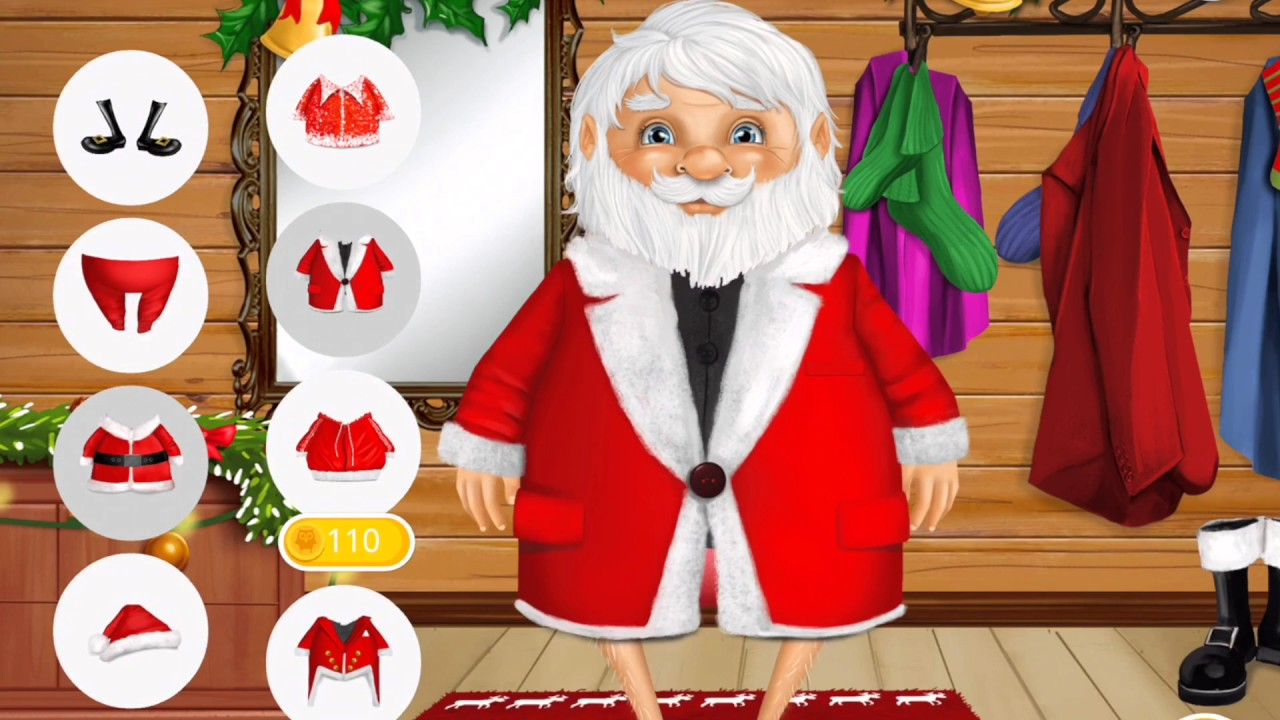 Dress up xmas games - Fun Baby Care Kids Colors Game Play Doctor Santa Sweet Baby Girl Dress Up Christmas Girls Games