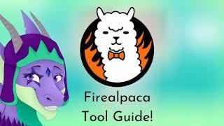 Firealpaca Tutorial: Tools!