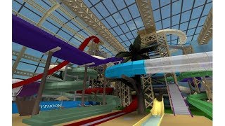 ROBLOX Gameplay Spaceman's Wild WaterDome Indoor Water Park