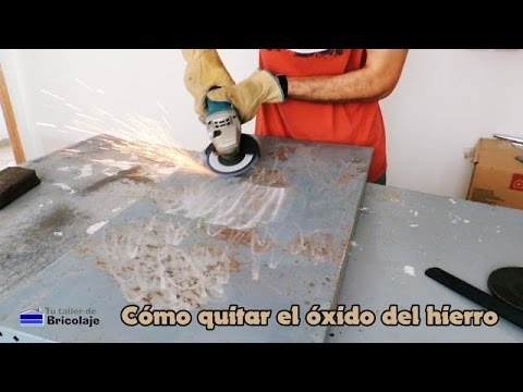 C mo quitar el xido del hierro youtube - Como limpiar suelos de barro ...