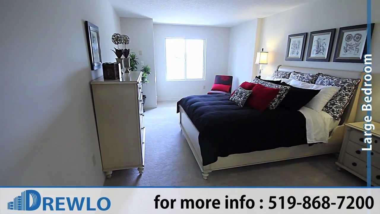 Beaverbrook Towers 1 Bedroom Woodhaven Plan Apartments For Rent London Ontario